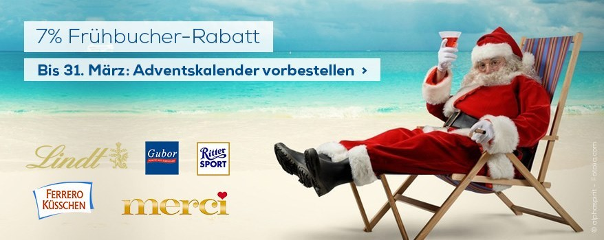 Adventskalender-Rabatt