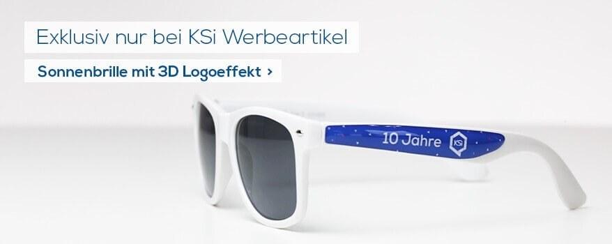 KSi Markensonnenbrille mit Doming
