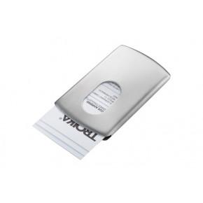 Visitenkartenetui Slide Silberfarben Als Werbeartikel Ab 5