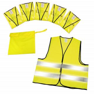 "Warnweste ""Standard"" 5er Set im Etui, neon-gelb"