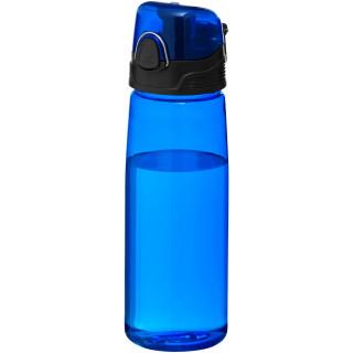 Capri 700 ml Tritan™ Sportflasche, EXPRESS, transparent blau