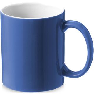 Java 330 ml Keramiktasse, blau, weiss