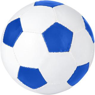 Curve Fußball, royalblau, weiss