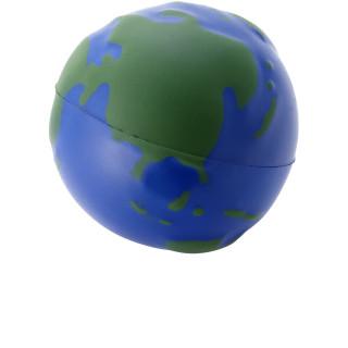 Globe Antistressball, blau, grün