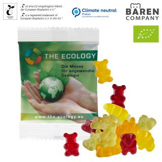 Bio-Bärchen im kompostierbaren Tütchen