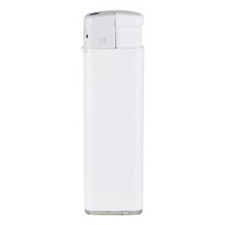 unilite® Elektronik-Feuerzeug [Nachfüllbar], Vollfarbe Weiß