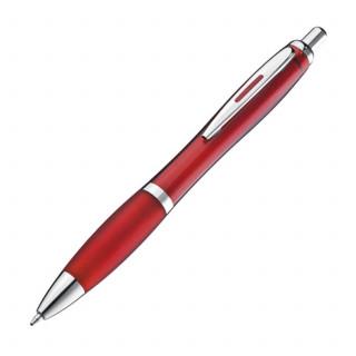 Kugelschreiber mit silbernem Metallclip