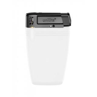 unilite® Elektronik-Feuerzeug [Einweg], Vollfarbe Weiß