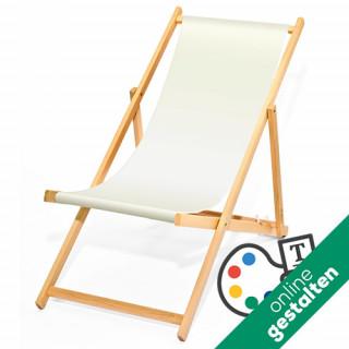 Holz-Liegestuhl CLASSICO zum Selbstgestalten