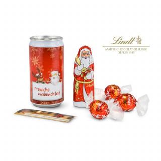 Geschenkset / Präsenteset: Lindt-Geheimnis - Santa