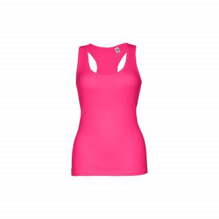 TIRANA Damen Tank Top, rosa, L