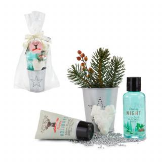 Wellness-Geschenkset: Happy Holidays