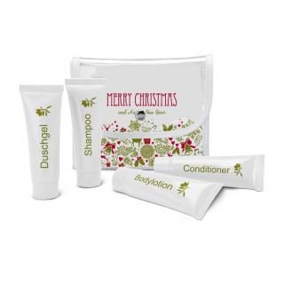 Wellness-Geschenkset: Pflegeset, 5-teilig - Merry Christmas