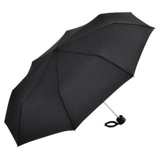 Alu-Mini-Taschenschirm, schwarz