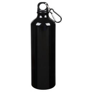 Aluminium-Trinkflasche BIG TRANSIT, schwarz