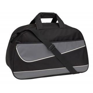 Sporttasche PEP, grau, schwarz