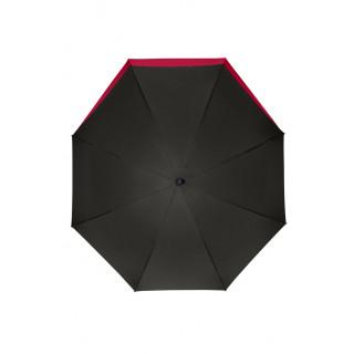 doppler Regenschirm Fiber Lang AC Move, schwarz/rot