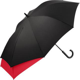 AC-Midsize-Stockschirm FARE®-Stretch, schwarz-rot