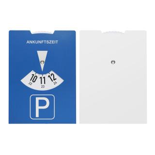 Karton-Parkscheibe, blau