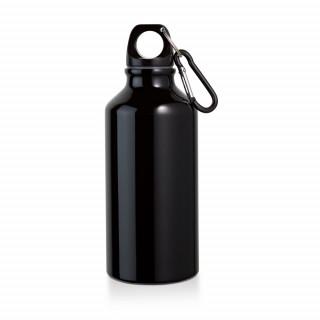 LANDSCAPE Trinkflasche mit Karabiner, schwarz