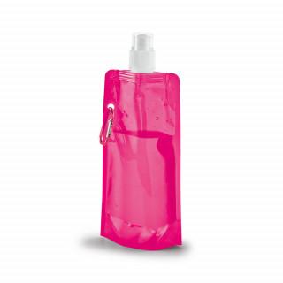 KWILL Faltbare Trinkflasche, rosa
