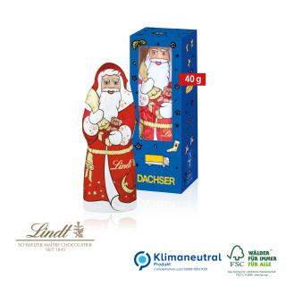 Weihnachtsmann von Lindt, 40 g, Klimaneutral, FSC®-zertifiziert