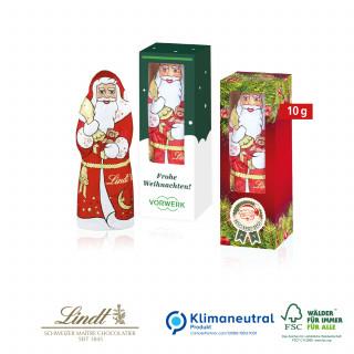 Weihnachtsmann von Lindt, 10 g, Klimaneutral, FSC®-zertifiziert