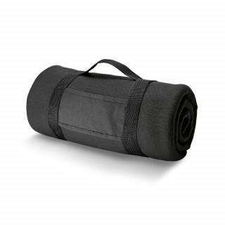 THORPE Fleece-Decke 180 g/m², schwarz
