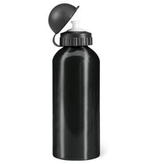 BISCING Trinkflasche Alu 600ml, schwarz