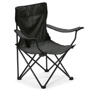 EASYGO Camping/Strandstuhl, schwarz