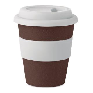 BRAZIL WHITE Becher aus Kaffeehülsen 350ml, weiß