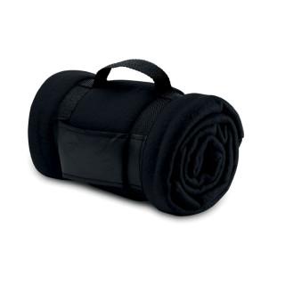 STAVENGER Fleece-Decke, schwarz