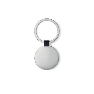 ROUNDY Schlüsselring, rund, schwarz