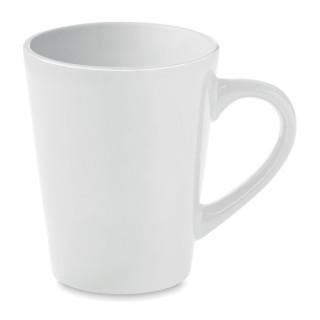 TAZA Keramik Kaffeebecher 180ml, weiß