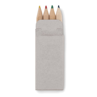 PETIT ABIGAIL Mini Buntstifte-Set, beige