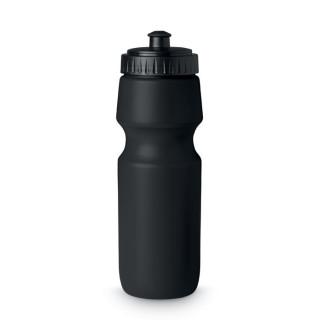 SPOT SEVEN Trinkflasche PE 700ml, schwarz