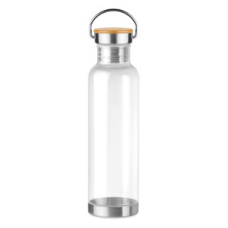 HELSINKI BASIC Tritan Trinkflasche 800 ml, transparent