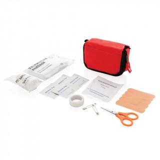 Erste Hilfe Set in Tasche, rot