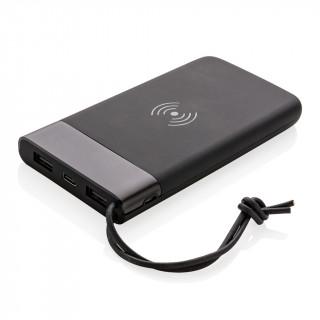 Aria 8.000 mAh 5W Wireless Charging Powerbank, schwarz