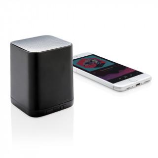 Lautsprecher 3W mit leuchtendem Logo, schwarz