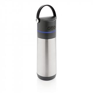 Party 3-in-1 Vakuum-Flasche, grau, anthrazit