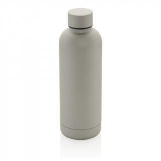 Impact doppelwandige Stainless Steel Vakuum-Flasche, silber