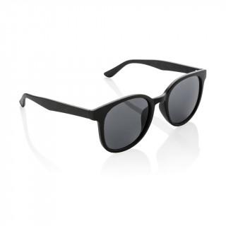 Weizenstroh Sonnenbrille, schwarz