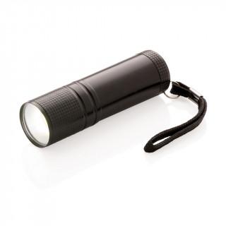 COB Taschenlampe, schwarz