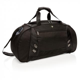 Wochenend-/Sporttasche, schwarz