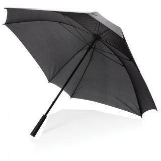 """27"""" XL Square Schirm mit manueller Öffnung, schwarz"""