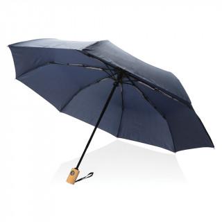 """21"""" RPET Schirm mit automatischer Öffnung und Schließung, navy blau"""