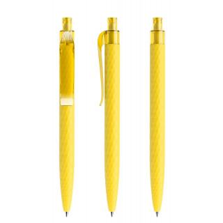 prodir QS01 Soft Touch PRT Push Kugelschreiber, lemon