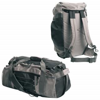 Schwarzwolf outdoor® ZAMBEZI 2-in-1 Sporttasche, grau
