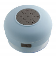 Bluetooth® Duschlautsprecher mit Radio REFLECTS-AVIGNON LIGHT BLUE
